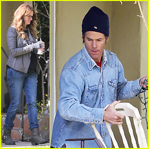 Julia Roberts: Christmas Lights with Danny Moder!