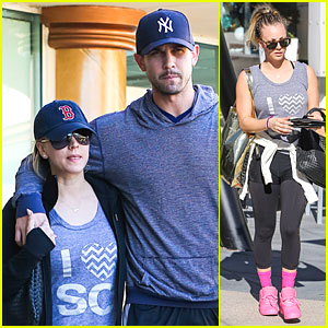 Kaley Cuoco & Ryan Sweeting: California Pizza Kitchen Lunch!