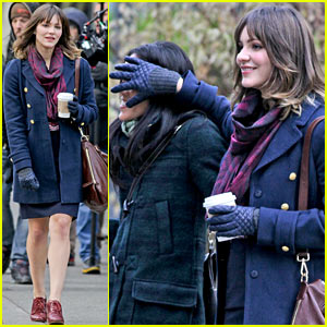 Katharine McPhee Goofs Around with Co-Star for 'In My Dreams'!