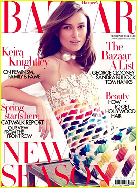 Keira Knightley Talks Feminism with 'Harper's Bazaar UK'