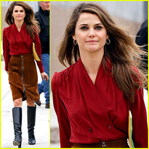 Keri Russell: 'Americans' Season One DVD Out Next Month!