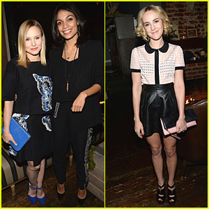Kristen Bell & Rosario Dawson: 'Hobbit' Mobile Game Event!