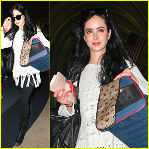 Krysten Ritter: Jordan Galland's 'Leave My Friends Alone' Music Video - Watch Now!