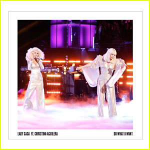 Lady Gaga & Christina Aguilera: 'Do What U Want' Studio Version - LISTEN NOW!