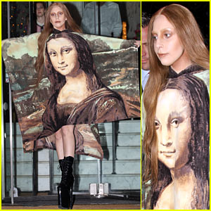 Lady Gaga Rocks Mona Lisa Dress After 'ARTPOP' Tour News