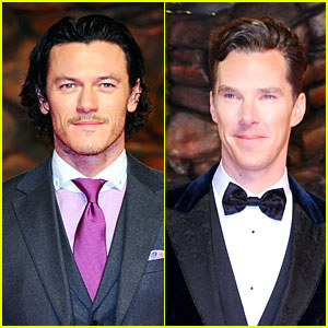 Luke Evans & Benedict Cumberbatch: 'Hobbit' Berlin Premiere!