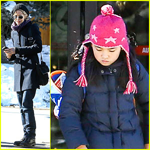 Meg Ryan: Aspen Holiday Vacation with Daisy!