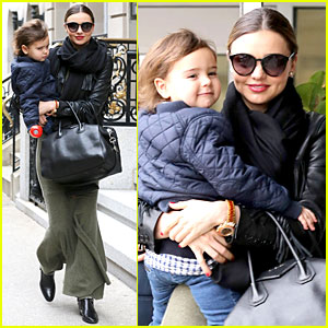 Miranda Kerr: New Year's Eve Helicopter Ride with Flynn!