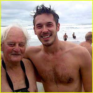 Nashville's Sam Palladio Goes Shirtless for Christmas Day Swim!