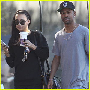 Naya Rivera & Big Sean: Casual Coffee Couple