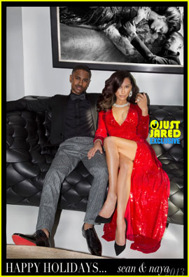 Naya Rivera & Big Sean Christmas Card Revealed (Exclusive)