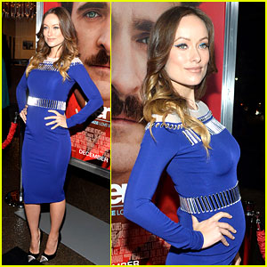 Olivia Wilde Embraces Her Tiny Baby Bump at 'Her' Premiere!