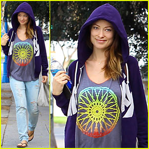 Olivia Wilde Reveals Highlight From Thanksgiving with Family!