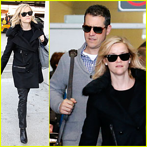 Reese Witherspoon & Jim Toth: Paris Pair After March of Dimes Celebration!