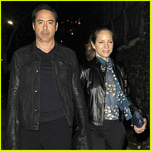 Robert Downey Jr. & Susan: 'I'll Eat You Last' Play Date!