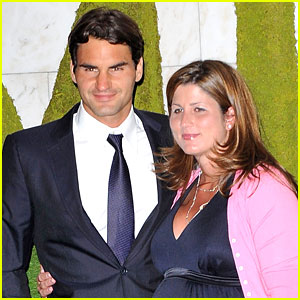 roger federer expecting third child with pregnant wife mirka