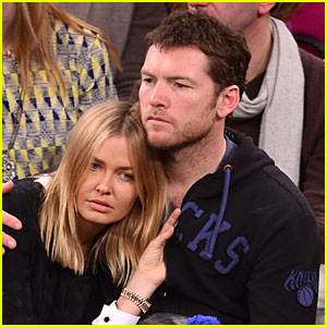Sam Worthington: Merry Knickmas with Lara Bingle!