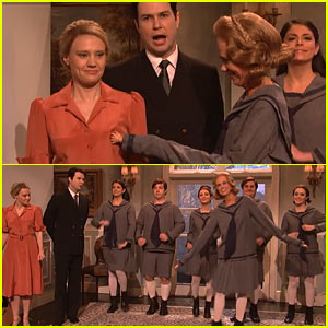 'SNL' Spoofs 'Sound of Music Live', Kristen Wiig & Will Ferrell Guest on Paul Rudd Ep!