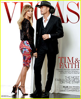 Tim McGraw & Faith Hill Cover 'Vegas' Magazine December 2013