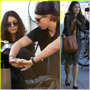 Vanessa Hudgens and austin butler 2014