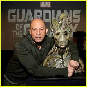 Vin Diesel Officially is Groot in 'Guardians of the Galaxy'!