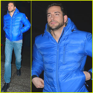 Zachary Levi: Bundled Up in the Big Apple