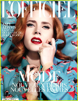 Amy Adams Covers 'L'Officiel' February 2014