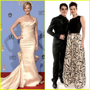 Anna Gunn, Betsy Brandt, & RJ Mitte - Golden Globes 2014