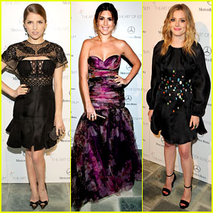 Anna Kendrick & Gillian Jacobs - Art of Elysium Heaven Gala