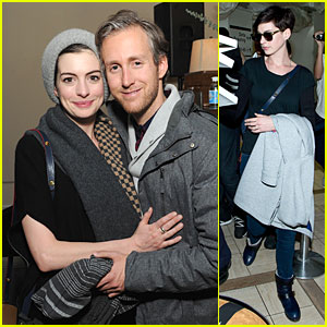 Anne Hathaway & Adam Shulman: 'The One I Love' After Party!