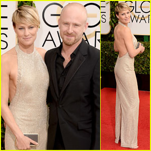robin wright golden globes 2014