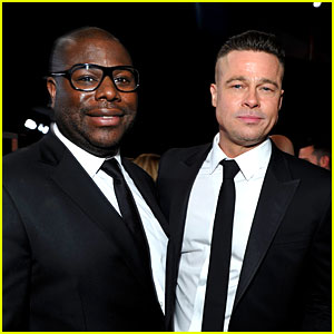 Brad Pitt: SAG Awards 2014 with Director Steve McQueen!