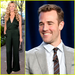 Brooklyn Decker & James Van Der Beek: CBS TCA Panel 2014!
