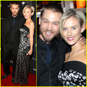 Chad Michael Murray & Nicky Whelan - Golden Globes 2014