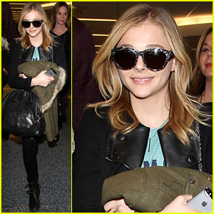 Chloe Moretz Wants 'Normal' Seventeeth Birthday Party