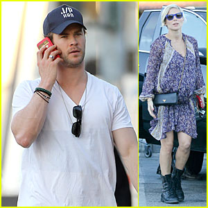 Chris Hemsworth & Elsa Pataky: Separate Outings After Twins News!