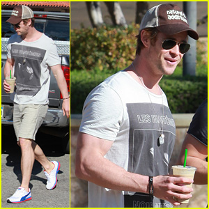 Chris Hemsworth: Pavilions Grocery Outing!