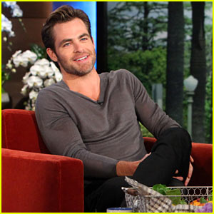 Chris Pine Details 'Unmasculine' Finger Break Incident on 'Ellen'!