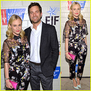 Diane Kruger & Joshua Jackson: Hollywood Stands Up To Cancer Event!