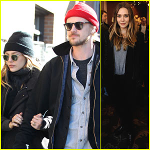 Elizabeth Olsen Hangs with Boyd Holbrook at Sundance
