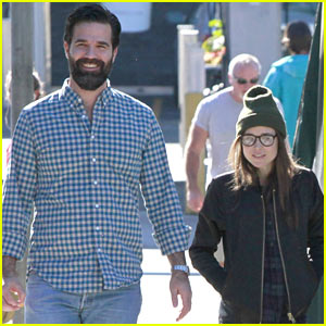 Ellen Page Meets Up with Comedian Rob Delaney for Lunch ... Ellen Page Height