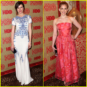 Emily Mortimer & Anna Chlumsky - HBO Golden Globes Party 2014