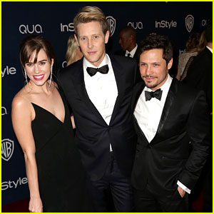 Gabriel Mann & Nick Wechsler - InStyle Golden Globes Party 2014