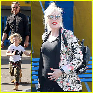Gwen Stefani Steps Out with The Family After Baby Boy News!