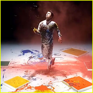 Glee's Harry Shum, Jr. Dances in Paint for New Video!