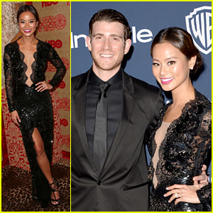 Jamie Chung & Bryan Greenberg - InStyle Golden Globes Party 2014