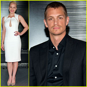 Joel Kinnaman & Abbie Cornish: 'RoboCop' L.A. Photo Call!