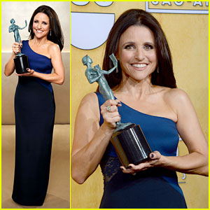 Julia Louis-Dreyfus - SAG Awards 2014 Red Carpet