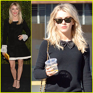 Julianne Hough: Drew Barrymore's Book Celebration!