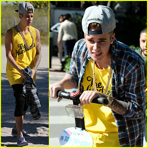 Justin Bieber Emerges For First Time After Home Raided By Police (PHOTOS)